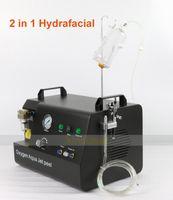 2 в 1 водяной кислородной струе пилинг лица hydra facial hydra dermabrasion омоложение кожи антивозрастная машина для ухода за лицом