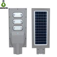 30W 60W 90W 태양 램프 방수 IP65 거리 벽 빛 PIR 모션 센서 보안 옥외 조명 극 정원