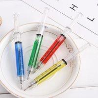 Novedad jeringa bolígrafo bolígrafo moda estudiante bolígrafos regalos promocionales pluma para hospital médico enfermera doctor w7168