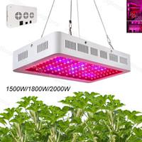 Grow Light Full Spectrum Doppio chip Singolo interruttore singolo 1500W 1800W 2000W per la tenda coperta Case verde Impianto impianti sistemi idroponici DHL