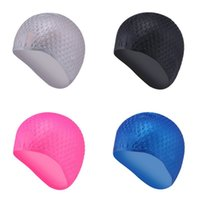 New Silicone Swimming Cap 3D Ergonomic Design Ear Bag Waterp...