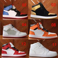 HOT Chicago Crystal 1 Shoes Mens 1S OG MID Sport A Sneakers ...