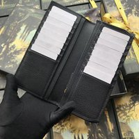 2019 Designer Folded Wallets Fashion New Wallet Brands For Men Wallets Purse Card Holder Wallets Leather With Box