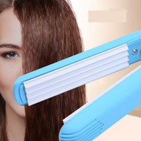 Portable Fluffy Small Waves Corrugated Curling Hair Electric...