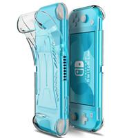 Nintendo Anahtarı Lite Fundas Coque Nintendo Anahtarı Lite Yumuşak Silikon Kılıf Kapak Silikon Koruyucu Kılıf TPU Kabuklar için Kılıf