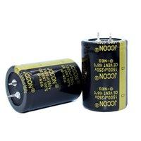 JCCON سميكة قدم مكثف كهربائيا 250v1500uf حجم 35x50 السلطة العاكس