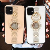 Luxury phone case for iPhone 11 pro Case with Ring Buckle Ba...