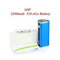 E-cigarrillo Mini 30W Batería Mod Kit 30 vatios Batería Pantalla OLED Voltaje variable Mods batería con el embalaje simple