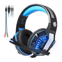 Beexcellent GM-2 Gaming Headset سماعات الرأس السلكية سماعات رأس للكمبيوتر إلغاء الضوضاء الهاتف مع التحكم في خط LED