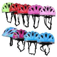 Radfahren Kinder Fahrrad-Sturzhelm-Roller-Sicherheits-Kopfumfang veränderbare Länge 49-59cm Sport Protektoren