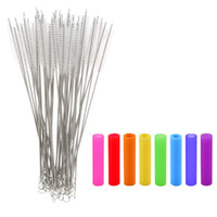 175mm 20mm 240mm Cleaning Brush Colorful Silicone Tips For 1...