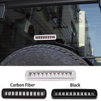 ABS voiture haut frein lumière décorative couverture pour Jeep Wrangler JL 2018 Factory Outlet Auto Accessoires interne