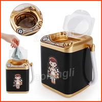 Cepillo cosmético limpieza simulación eléctrica lavadora juguete limpiar cepillo cosmético puff pequeña herramienta de maquillaje juguetes DHL envío gratis