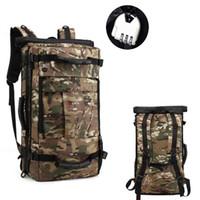 Большой Backpack Backpack Backpack Travel Bag Knaxackack Hiking Camping Bag Водонепроницаемый Backpack School School для 17-дюймовых корпусов ноутбука
