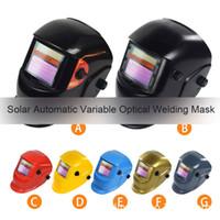 ALKTECH 1PC Solaire Solaire Soudage Casque de soudage Masque de soudure automatique Soudage MIG TIG ARC Soudage Outil de protection contre le blindage