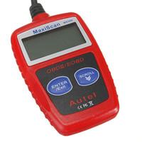 MS309 OBD2 EOBD Código de Falha Scanner Leitor de Diagnóstico de digitalização redefinir ferramenta