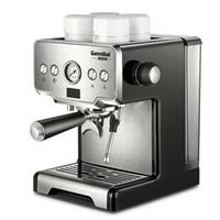 CRM3605 Semi-Auto Espresso Cafeteiras 1.7L Household commericial Máquina de Café Espresso 15 bar Milk máquina de espuma de café