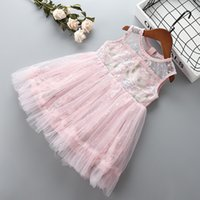 0- 6 years High quality girl dress 2019 summer new fashion ca...
