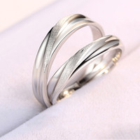 A couple ring in 925 Sterling Silver live pair ring for men ...