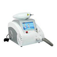 Rejuvenecimiento de la piel Equipo portátil interruptor Q de eliminación de tatuajes con láser Nd Yag Dispositivo máquina de eliminación de tatuaje de la ceja