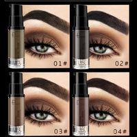 Augenbrauen Creme Augenbrauen-Gel 4D nackt Make-up Sexy Lasting Augenbraueschönheitsbehandlung Creme 6 Farben geben Verschiffen