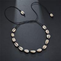 Shell colar gargantilha corda longa cadeia de verão praia colares mulheres moda jóias presente presente e arenoso
