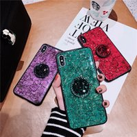 Luxury Glitter Case with kickstand pop holder for iPhone XS ...