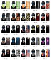Pesca US Stock 3D del collo di sport Skull Scarf biciclette bandane Shield maschera di protezione fascia Bandana Headwear Anello Sciarpa passamontagna bicicletta