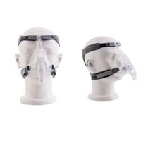 Moyeah CPAP آلة قناع الوجه الكامل قناع الوجه مع مقطع حزام القبعات القابلة للتعديل للنوم apnea المضادة للشخير
