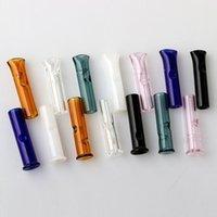 6 milímetros 8 milímetros Mini Filtro de Vidro dicas com Flat Round Boca para RAW Papeles Tobacco piteira pirex de vidro filtro Tubo de fumar dicas