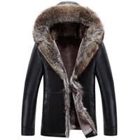 Vereinigt Mu Yuan Yang Verdicken Leder Jacke 2018 Neue Winter Herren Pu Jacken Und Mäntel 50% Off Männer Faux Leder Jacke Mantel Jacken & Mäntel