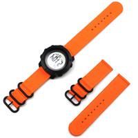 Liberação rápida Pins 24mm Nylon Watch Strap para Suunto Traverse Alpha Watchband Suunto 9 / Baro Spartan Sport Woven Watch Band