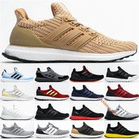 Alta Qualidade Ultraboost 3.0 4.0 Running Shoes Homens Mulheres Desert Triplo Branco Cookies Cream meia-noite Marinha UB4.0 Sports Sneakers 36-45