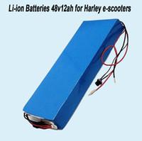 할리 전기 스쿠터 배터리 48V 12Ah 13S 리튬 이온 배터리 팩은 Airwheel 용 BMS 및 중국어 18650