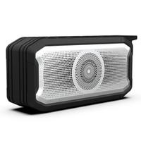 الجملة للماء المتكلم بلوتوث في الهواء الطلق المحمولة مع راديو fm ستيريو اللاسلكية اللاسلكية boombox tf aux usb outdoor bass مضخم الصوت