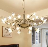 주점 연구 바 호텔 집에 조명 MYY를 들어 별이 빛나는 하늘 LED 펜던트 조명 현대 LED 램프 라이트 얼음 꽃 펜던트 램프