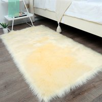Long Hair Living Room Carpet Sofa Rug Bedroom Bay Window Bed...