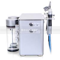 3 en 1 machine de soins de la peau Hydro de microdermabrasion professionnelle Hydro Dermabrasion visage visage plus propre soins de la peau du visage équipement de spa