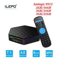 S912 TV Box T95Z Plus Lan 2,4 + 5,8 г Wifi Android 7.1 4k Ultra Smart TV Streaming Боксы T95Z Телевидение Media Player