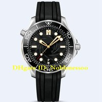 Nuevo modelo Hot Men's 42mm James Bond 007 Edición limitada Cronómetro maestro 210.22.42.20.01.004 Bandas de goma Relojes automáticos Mens Reloj