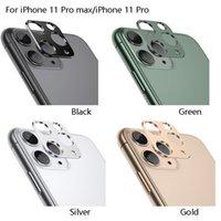Camera Lens dell'anello del metallo per iPhone Pro 11 Max 11 Pellicola protezione cerchio di copertura con Package