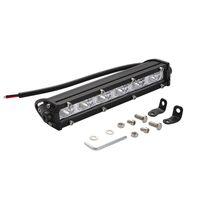 8INCH 18W LED WORK LIGHT BAR SINGLE ROW DRIVNING LAMP UTE ATV SUV JEEP