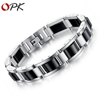 Fashion Trendy Stainless Steel Healthy Black Magnetite Brace...