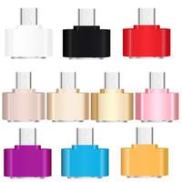Mini Micro USB 5 broches à femelle Port USB OTG Adapter Sync charge pour téléphone intelligent, téléphone mobile Smartphone Tab U-disque