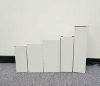 Пользовательские чашки упаковывая коробка 20 унций тощий упаковка тумблера настроить различные модели подсказки товаров белые складные коробки для многих размеров A07