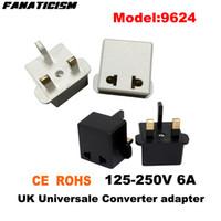 Фанатизм высокое качество Универсальная CE ROHS 9624 EU США AU К Великобритании штепсель Англия GB UK Travel AC Power Plug адаптер конвертер
