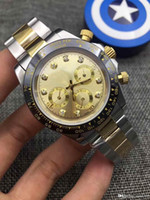 Men' s watch luxury sapphire ditunna timing design 6 pin...