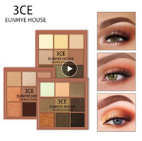 3CE Eunhye HOUSE Charme Lidschatten 9 Farbpalette Make-up Mattschimmer pigmentierten Lidschatten-Puder Wasserdicht Leicht zu tragen