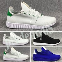 Adidas Tennis HU 2019 ténis Hu Mens ténis Pharrell Williams x Stan Smith Women Runner Sports Shoe White Green Trainers Sneakers p05