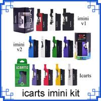 Оригинальный Imini V1 V-2 icarts комплект с 0,5 по 1,0 мл Картриджи Предварительно тепловой батареи Мод Fit Liberty Картриджи 0268073